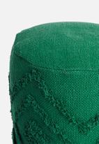 Sixth Floor - Kaya ottoman - green