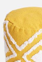 Sixth Floor - Kaya ottoman - mustard