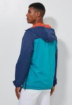 Superbalist - Colour-blocked half-zip anorak - multi