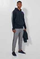 Superbalist - Side stripe pullover sweat hoodie - navy