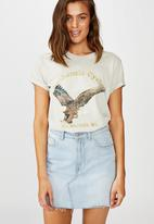 Cotton On - Classic vintage T-shirt authentic cycles - vaporous grey