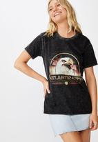 Cotton On - Classic vintage T-shirt Atlantic city eagle - black