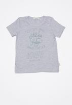 Sticky Fudge - Custom made basic T-shirt - grey