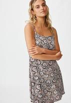 Cotton On - Woven kendall mini dress jane paisley - multi