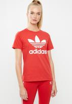adidas Originals - Adicolour classic tee - red