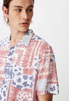 Factorie - Resort short sleeve shirt - multi