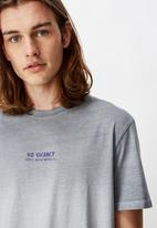 Factorie - Regular fit short sleeve tyedye tee - grey