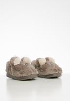POP CANDY - Bear slipper - grey