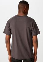 Cotton On - Essential short sleeve skate tee - faded slate