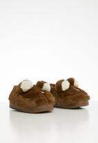 POP CANDY - Bear slipper - brown