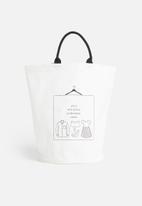 Sixth Floor - Laundry day laundry basket - white