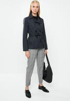 ONLY - Laura short trench - navy