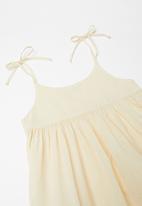 Sticky Fudge - Angora summer dress - neutral