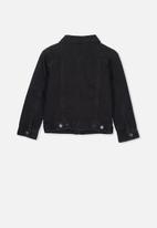 Cotton On - Quinn denim jacket - black wash
