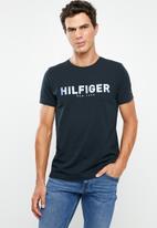 Tommy Hilfiger - Hilfiger applique tee - black