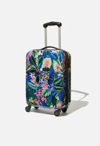 Typo - Tsa small suitcase - resort floral