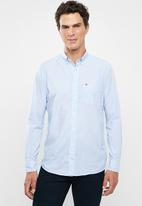 Tommy Hilfiger - Stripe shirt - blue & white