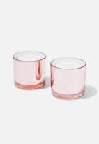 Typo - Duo candle set - rose gold