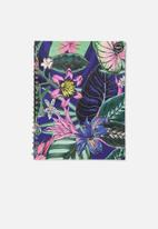 Typo - A4 campus notebook recycled - resort floral