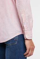 Tommy Hilfiger - Stripe shirt - red & white