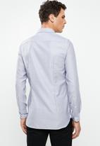 Tommy Hilfiger - Slim essential dobby shirt - grey