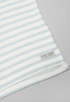 Sticky Fudge - Stripe long sleeve top - blue & white