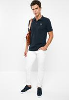 GUESS - Guess classic short sleeve polo - navy