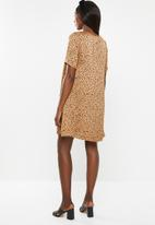 Glamorous - Maternity shift dress - bronze & black
