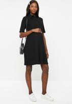 Glamorous - Maternity shirt dress - black