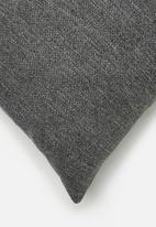 Hertex Fabrics - Page cushion cover - grey