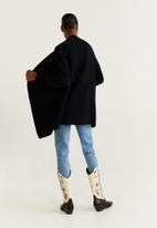 MANGO - Cardigan montiel - black