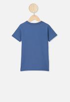 Cotton On - Max short sleeve tee - petty blue