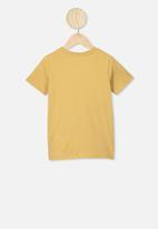 Cotton On - Max short sleeve tee - vintage honey