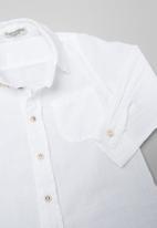Sticky Fudge - Summer long sleeve shirt - white