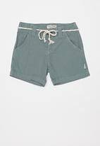 Sticky Fudge - Diesel tailored shorts - green