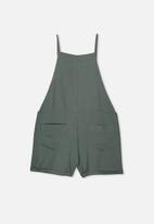 Free by Cotton On - Tilly playsuit - misty moss
