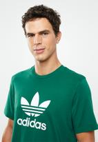 adidas Originals - Trefoil T-shirt - green & white