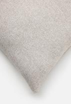 Hertex Fabrics - Page cushion cover - blush