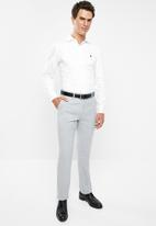 POLO - Mens classic custom fit formal trouser - grey
