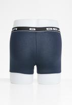 Bear - 3 Pack bodyshorts plain (ongoing) - navy