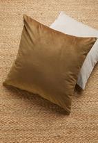 Sixth Floor - Magical cushion cover - toffee