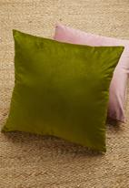 Sixth Floor - Magical cushion cover - pesto