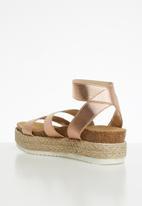 Steve Madden - Kimmie sandal - rose gold