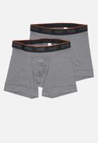 Nike - Nike 2 pack briefs - grey