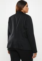 edit Plus - Smart blazer (plus) - black