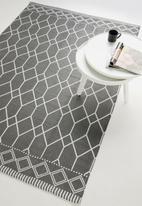 Sixth Floor - Alaina printed outdoor rug - grey