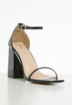 Public Desire - Anna barley there heel  - black
