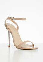 Public Desire - Betray barely there heel - neutral