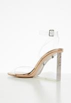 Public Desire - Lati wedge heel - rose gold