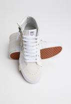 Vans - SK8-Hi reissue cap - blanc de blanc & true white